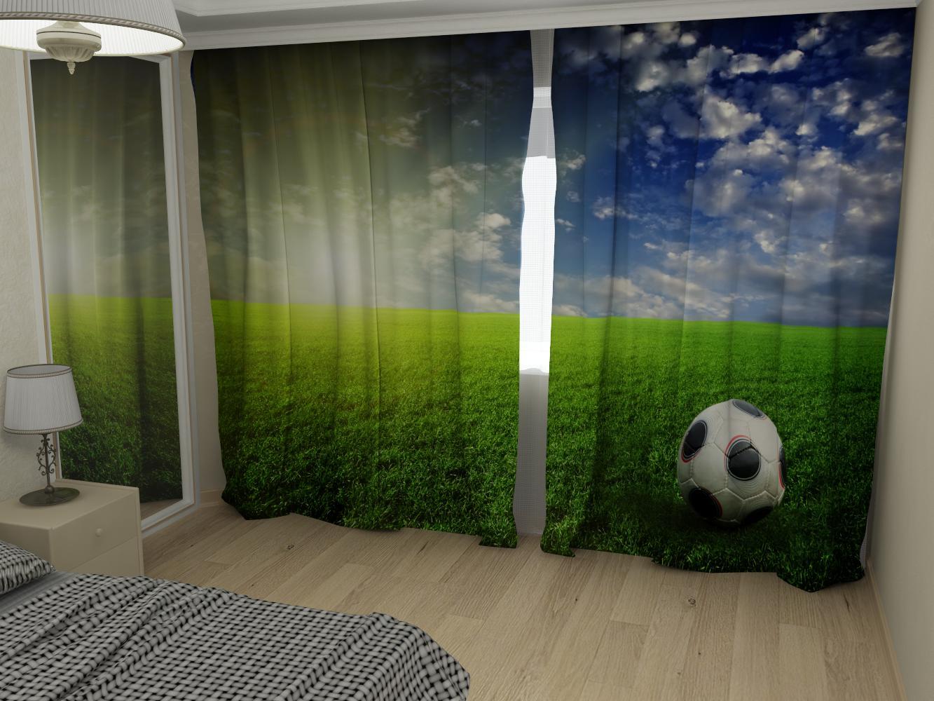 картинки фотошторы футбол драпировки стен
