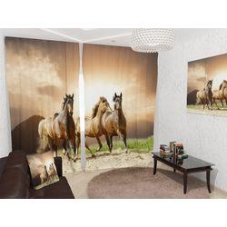 ФотоШторы С лошадьми