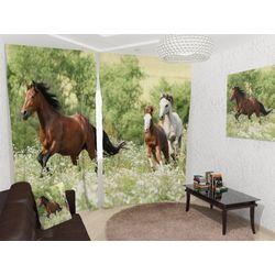 ФотоШторы С конями