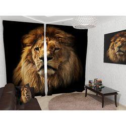 ФотоШторы Со львом