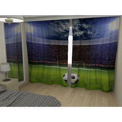 Комплект фото шторы+фото тюль Футбол