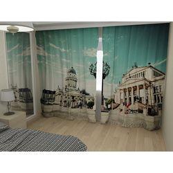 Комплект фото шторы+фото тюль Германия