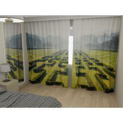 Комплект фото шторы+фото тюль Лабиринт