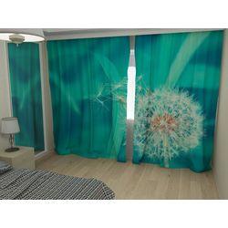 Комплект фото шторы+фото тюль Одуванчик