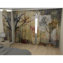 Комплект фото шторы+фото тюль Осень