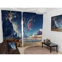 ФотоШторы Космический пейзаж