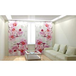 ФотоШторы Ветви орхидей