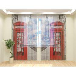 Тюль Лондон. Телефон
