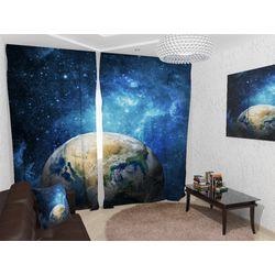ФотоШторы Земля из космоса версия 2