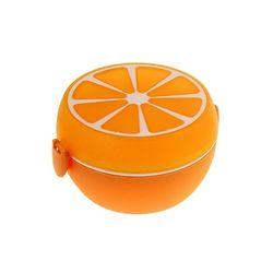 """Контейнер с крышкой, ложкой и вкладышем """"Апельсин"""", 1,2л"""