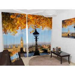 ФотоШторы Осенний Лондон