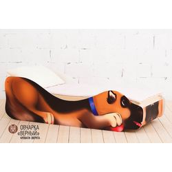 Детская кровать «Овчарка - Верный»