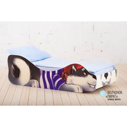 Детская кровать «Волчёнок - Пират»