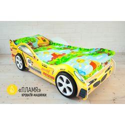 Детская кровать-машина «Пламя»