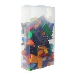 Набор из двух прозрачных коробок для хранения игрушек