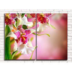 Модульная картина Цветочный дизайн 80х60 см