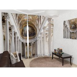Комплект фото шторы+фото тюль Тронный зал