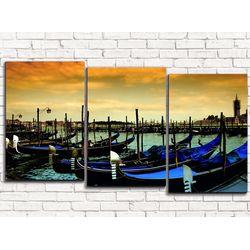 Модульная картина Гондолы 120х60 см
