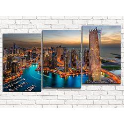 Модульная картина Дубаи 120х60 см