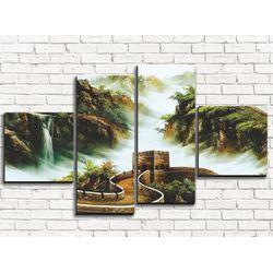 Модульная картина Китайская стена 110х60 см