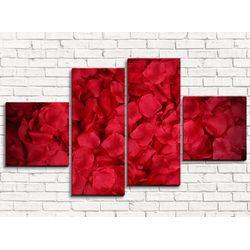 Модульная картина Лепестки 110х60 см