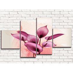 Модульная картина Прекраснейший антуриум 110х60 см