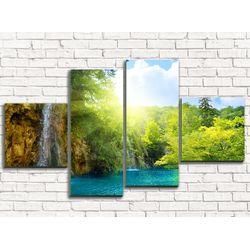 Модульная картина Водопады 110х60 см