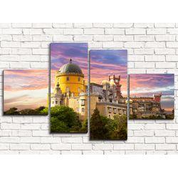 Модульная картина Замок 110х60 см