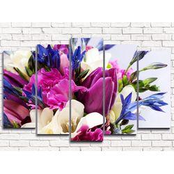 Модульная картина Весенний сюрприз 125х80 см