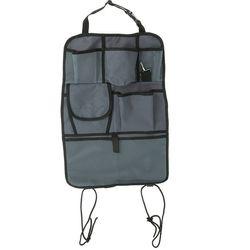 Органайзер на спинку сиденья серый