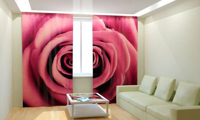 ФотоШторы Бархатная роза
