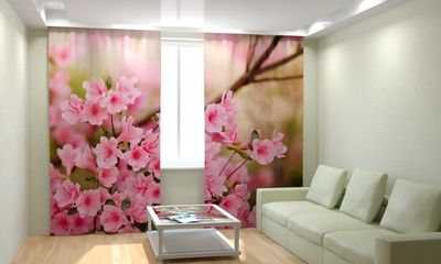 ФотоШторы Нежные цветы