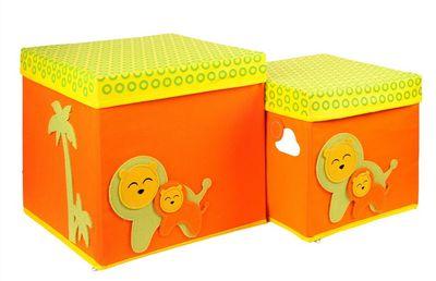 "Набор из 2-х коробок ""Sunny Jungle"" с крышками!!"