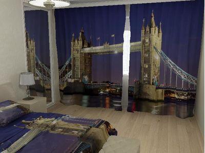 ФотоШторы Вечерний London bridge
