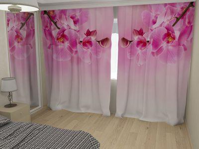 ФотоШторы Ветки орхидеи