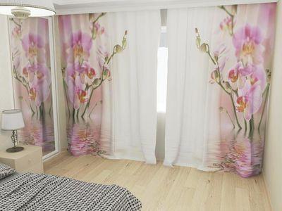ФотоШторы Нежные орхидеи