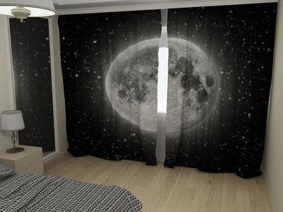 ФотоШторы Луна
