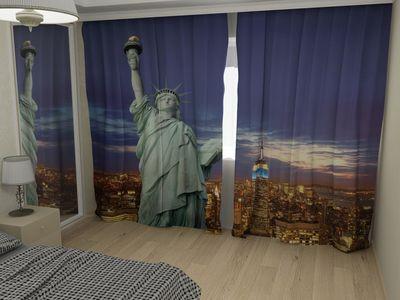 ФотоШторы Statue of Liberty