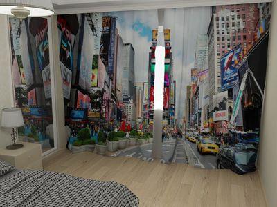 ФотоШторы Times Square