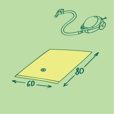 Вакуумный пакет для хранения вещей, 60*80, цветной